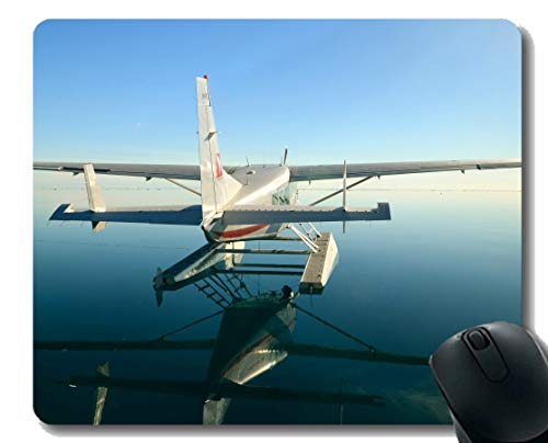 - Gaming Mouse Pad Custom,Cessna Seaplane Mouse Mat,Non-Slip Rubber Base Mousepad