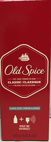 OLD SPICE COLOGNE CLASSIC 1075 4.25oz by PROCTER & GAMBLE DIST. *** (Cologne Spice)