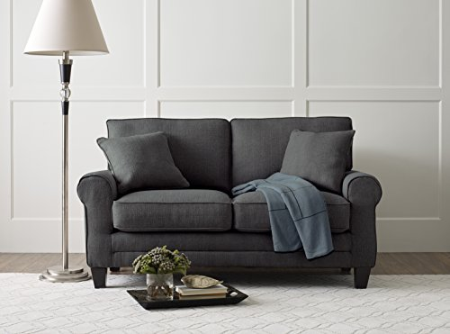Serta Deep Seating Copenhagen 61'' Loveseat in Windsor Gray by Serta