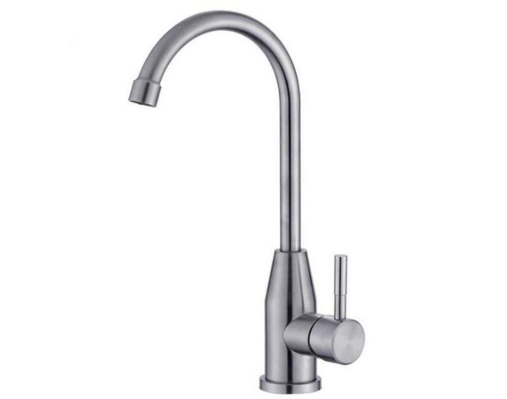 Basin Taps Swivel Spout Faucet Sink Taps Mixer Swivel Faucet Sink Stainless Steel Tap