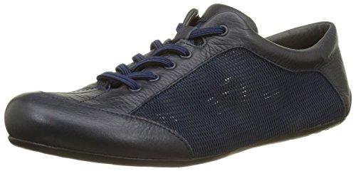 Camper Peu Summer Senda, Sneakers Basses Femme, Blanc Bleu (Dark Blue 020)