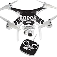 Skin For DJI Phantom 3 Standard – Geek | MightySkins Protective, Durable, and Unique Vinyl Decal wrap cover | Easy To Apply, Remove, and Change Styles | Made in the USA