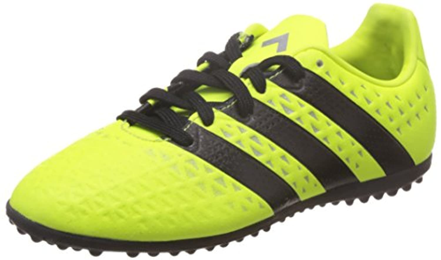 adidas ACE 16.3 TF J - Football boots for Boys, 35 1/2, Yellow