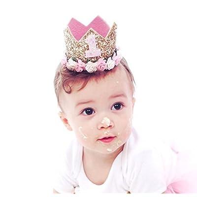 Kids Girls Boys Baby Toddler Crown Headband Hair Band Headwear Birthday Party