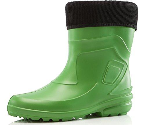Agua Antideslizantes de de Ligeras Zapatos Muy Seguridad 2017 Ladeheid LA Botas Negro Kiwi Mujer 800 5UXwqyE