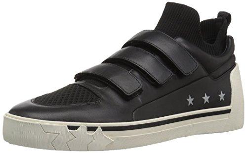 Ash Women's Neptune Sneaker Nappa Calf Knit Black, 38 M EU (8 US) ()