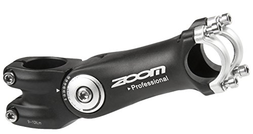 ZOOM verstelbarer Vorbau Ahead, black, 1.1/8(28.6), 41/105 mm, 31.8 mm