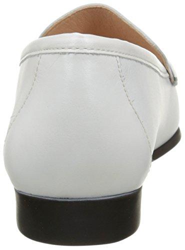 Mocassins Blanc Luxat Femme Optique Johan blanc Axnqaw6f
