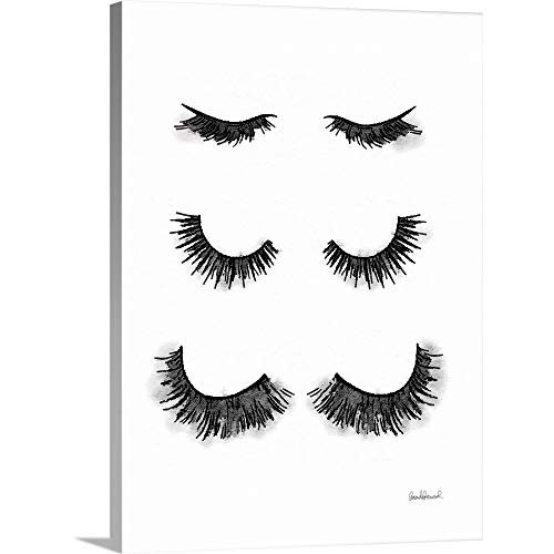 Gallery-Wrapped Canvas Entitled Makeup Lashes by Amanda Greenwood ()