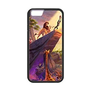 Caitin Painted Lion King Cell Phone Cases Cover for iPhone 5 5s