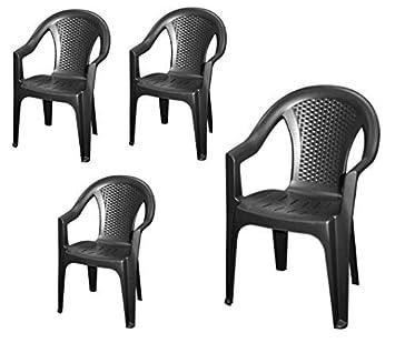 chaise plastique empilables