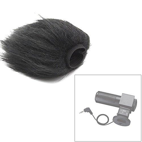 Fomito EN-2 Furry Windscreen Wind Muff for TAKSTAR SGC-698 Microphone-Black