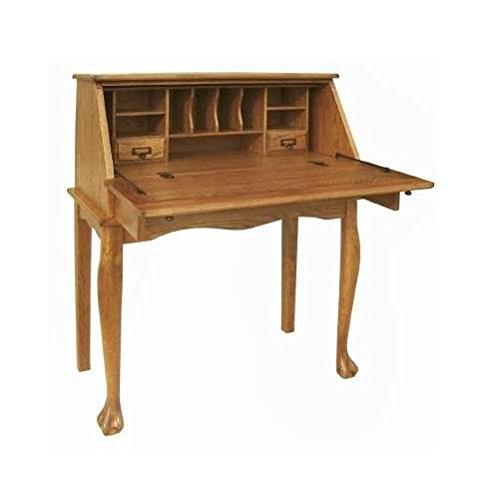 Used, Nolan Secretary Drop Leaf Desk in Harvest Oak for sale  Delivered anywhere in USA