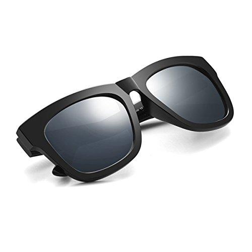 del Sol Retro Gafas KOMNY Gafas Gafas Conductor Blue de de Ice Sheet Hembra Sol Hombres 1030tr polarizadas los de manejo de Ash qFAw6Yq