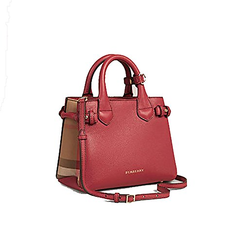 Burberry Red Handbag - 6