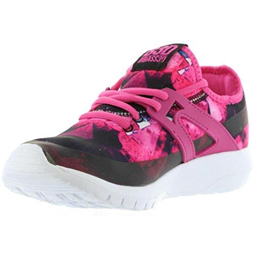 bass3d Women Sports Shoes 41257 Nylon Fucsia AO35ubY