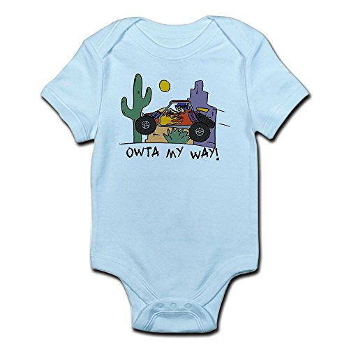 CafePress Fidget Desert Racer Infant Bodysuit - Cute Infant Bodysuit Baby ()