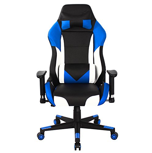 41kbCUIS7nL - HOMEFUN-Gaming-Chair-Ergonomic-High-back-Swivel-Racing-Computer-Chair-Executive-Office-Memory-Foam-with-Headrest-and-Lumbar-Support