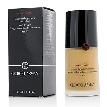 Giorgio Armani Power Fabric Longwear High Cover Foundation Spf 25, 4 (Fair, 1 ()