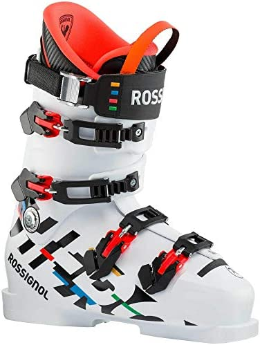 Rossignol Hero World Cup 140 Ski Boots, Unisex, Adults, White, 29.5