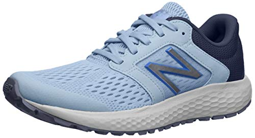 New Balance Women's 520v5 Cushioning Running Shoe, air/Cobalt/White, 6 B US
