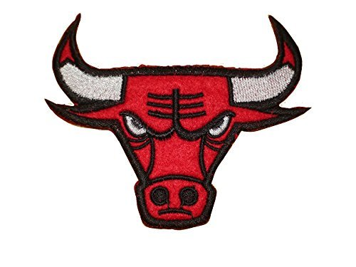 RED BULL Iron On Patch Fabric Motif Logo Applique Sports Basketball Decal 4 x 3.2 inches (10 x 8 -