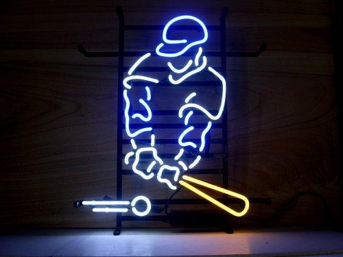 Baseball Neon Light Sign - New Baseball Sport Real Glass Neon Light Sign Beer Bar Pub Sign L31