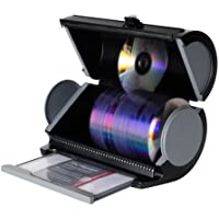 Atlantic 85012055 Disc Manager 80 Disc Storage - Black