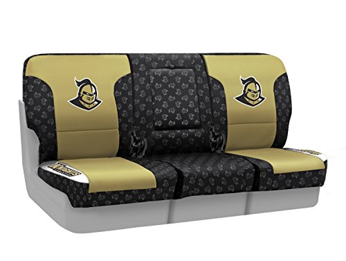 Coverking Custom Fit Front 40/20/40 NCAA Licensed Seat Cover for Select Nissan Titan Models - Neosupreme (University of Central Florida) by Coverking