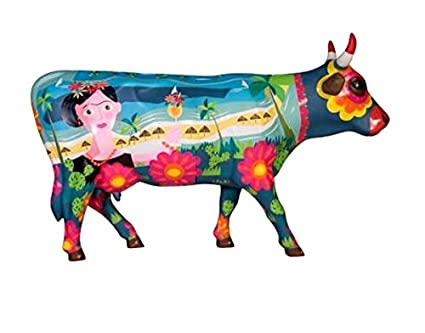 Frida vai a Cancun Cow 46777 Cowparade Kuh Large