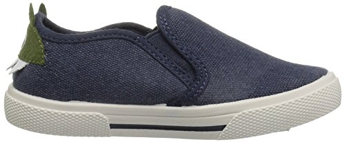 Pictures of carter's Boys' Damon7 Casual Loafer, Navy, 8 M US Toddler 3