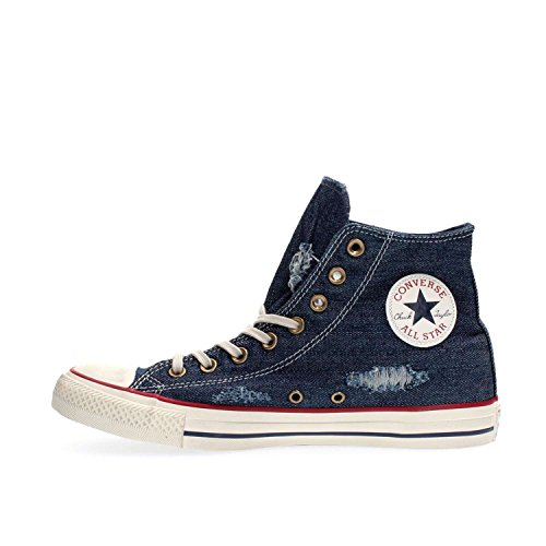 Denim Chuck Sneakers Star Taylor Enfant Mixte Basses Blue Converse Hi Youths All PURwH