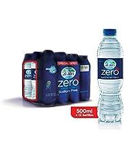 ALAIN Zero Sodium Water - 500 ml (Pack of 12)
