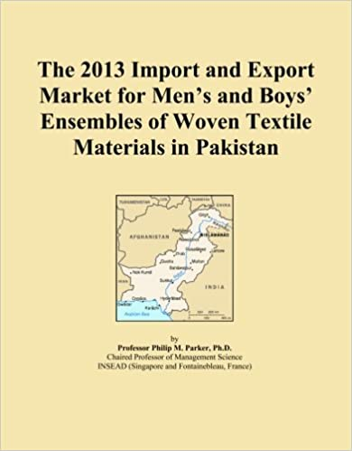 Book The 2013 Import and Export Market for Men's and Boys' Ensembles of Woven Textile Materials in Pakistan
