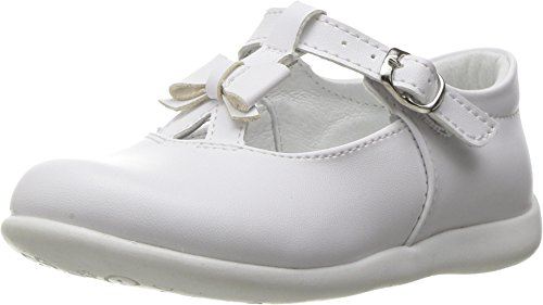 Kid Express Baby Girl's Ciel (Toddler/Little Kid) White Leather (Express Kids Shoes)
