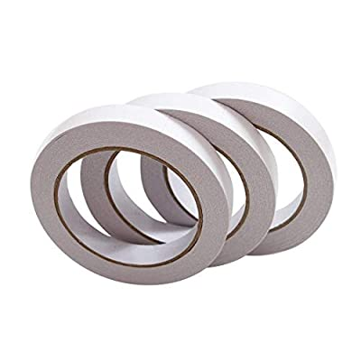 Cat scratching Double Sided Tapes Removables 3 Rolls Adhesive Sticky Tape for... [tag]