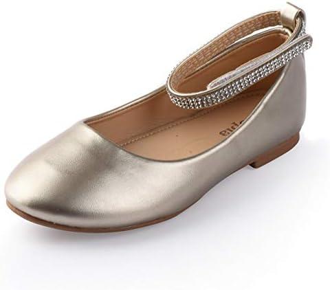Dress Ballet Ankle Strap Flat Shoes