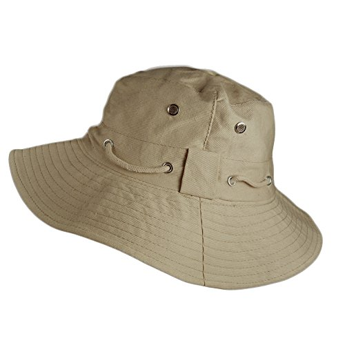 Aussie Outback Hats (TOSKATOK® Unisex Ultra Stylish Aussie Outback Safari Bush Hat-Sand)