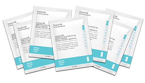 Odacit Synergie 4 Immediate Skin Perfecting Beauty Masque Sachet Box, 7 Pack, 1.75 oz.