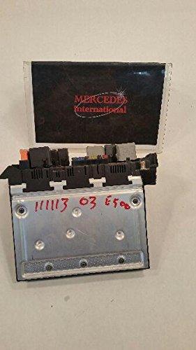 2003 mercedes-benz e500 engine fuse relay box unit 0035455901, fuse boxes -  amazon canada