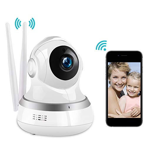 Wireless Camera, RegeMoudal 1080P WiFi IP Camera Wireless Indoor Camera Cloud Storage Pet Monitor IP Security Surveillance Baby Monitor with Night Vision Motion, Two Way Audio and Sound Detection