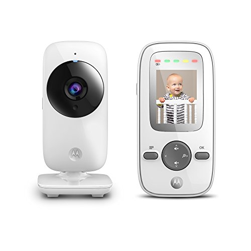 Exclusive] Motorola MBP481 2.4 GHz Digital Video Baby Monitor with 2-Inch Color Display, Digital Zoom, and Infrared Night Vision