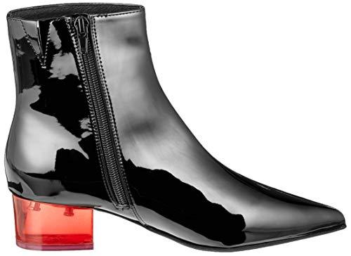 Campbell Jeffrey L Femme Heel Red 001 luminous black 4 Classiques Multicolore Bottes Tqwgdw