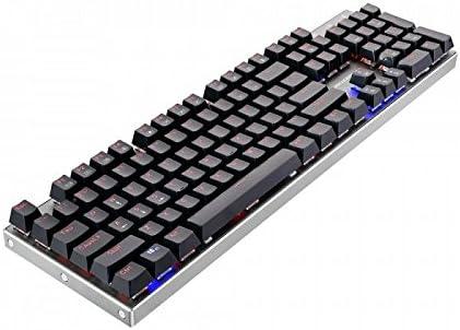 Thunderobot K70 Teclado Mecánico Gaming RGB, cuerpo de aleación de Aluminio, Switch Rojo - QWERTY ESPAÑOL