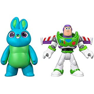 Fisher-Price Disney Pixar Toy Story 4 Bunny and Buzz Lightyear