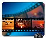Mouse Pad - Film Sunset Landscape Mood Atmosphere Projector 2