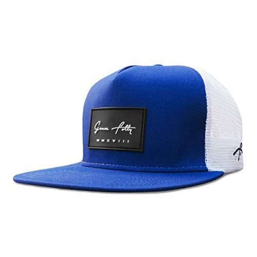 Grace Folly Trucker Hat for Men & Women. Snapback Mesh Caps (One Size, Blue)