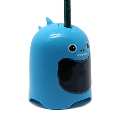 MyLifeUNIT Automatic Pencil Sharpener, Cute Electrical Pencil Sharpener for School Office Supply (Blue)