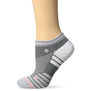 Stance Women's Blindpass Low Ankle Sock, Grey, M