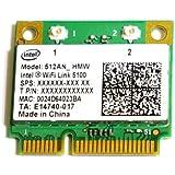Intel Wireless WiFi Link 5100 802.11a/b/g/draft-n PCI-E Mini Half 無線LANカード(512ANHMW)